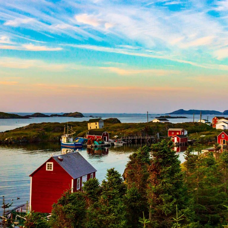 Newfoundland sky Borders Immigration Law Firm