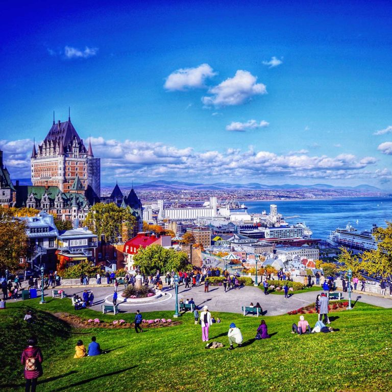 beautiful quebec city during fall Borders Immigration Law Firm